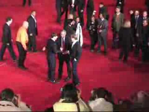 Lions For Lambs Red Carpet , Italy - Robert Redford, Tom Cruise