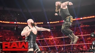 Big Show vs. Braun Strowman: Raw, April 17, 2017
