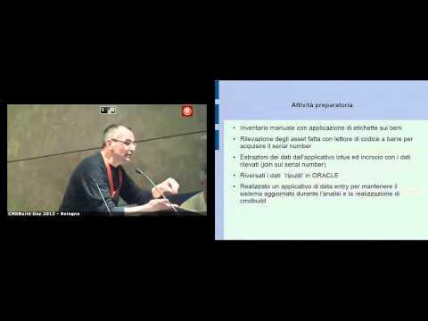 CMDBuild Day 2012 - Gian Luca Sanzani