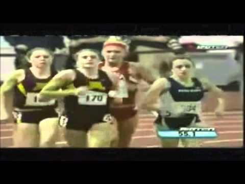 Heather Dorniden's Inspiring 600 meter race