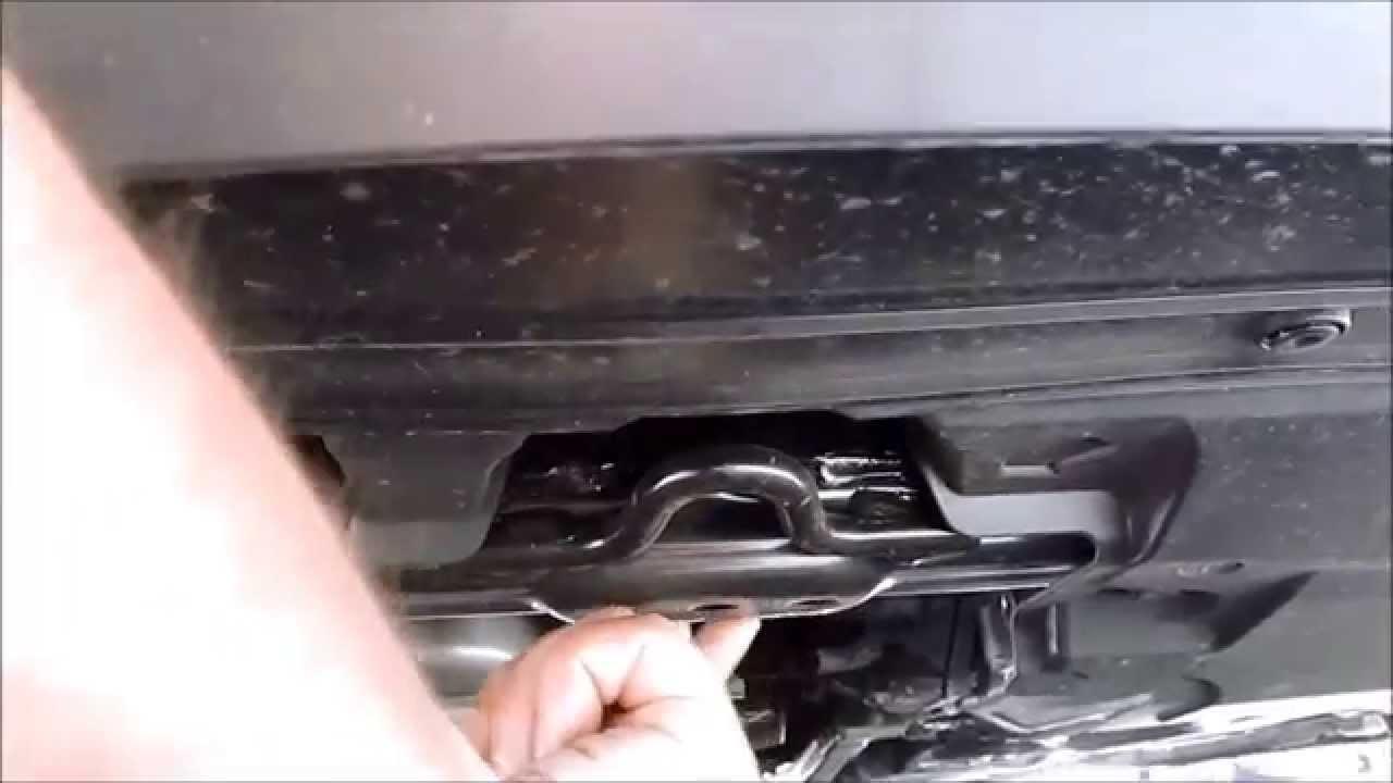 2013 2014 2015 Honda Accord Floor Jacking Point Youtube