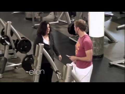 Amy Speaks the Lyrics at the Gym!319