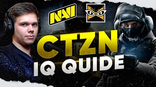 NAVI CTZN - How to Play IQ (Rainbow Six Siege Guide)
