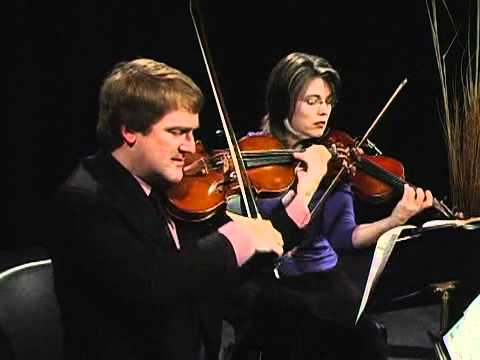 "Artaria String Quartet plays Mendelssohn ""Capriccio"" Op.81"