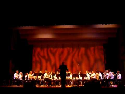 The Great Locomotive Chase -Montrose High School Wind Ensemble