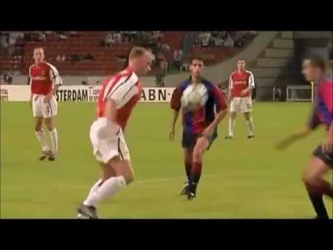 Dennis Bergkamp technical genius