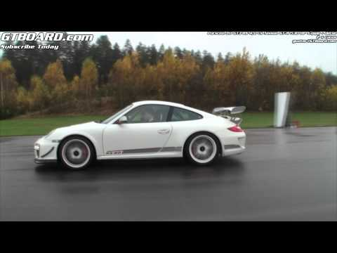 Nissan GT-R 530 HP decat vs Porsche 911 GT3 RS 4,0 x 2 races