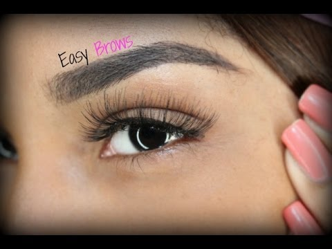 MY eyebrow Tutorial ( Anastasia Dipbrow + Stencil)