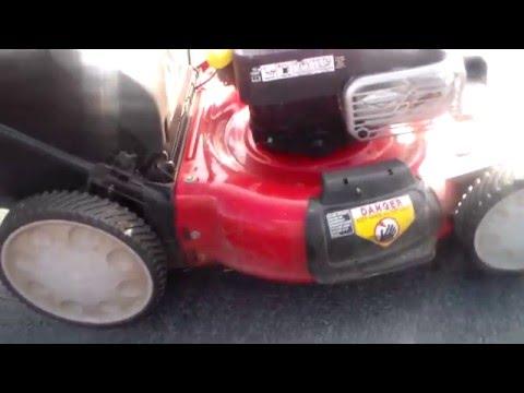Review Troy Bilt TB360 21 inch RWD Lawn Mower