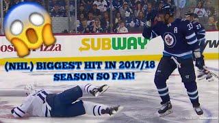 (NHL) BIGGEST HITS IN 2017/18 SEASON SO FAR!😱     Clean/Dirty Hits