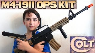 Airsoft Guns - Airsoft M4 and 1911 with Robert-Andre!