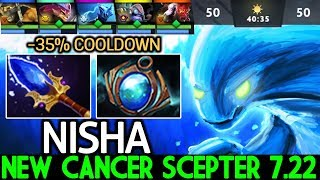 Nisha [Morphling] New Cancer Scepter 7.22 is Broken WTF Fast Hand Dota 2