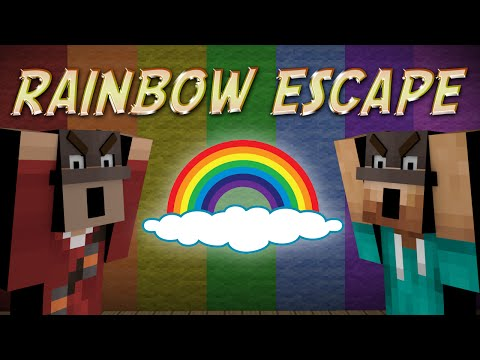 Minecraft: RAINBOW ESCAPE (Rainbow Escape)