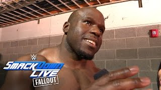 Apollo Crews has a diary entry for The Miz: SmackDown Live Fallout, Aug. 2, 2016