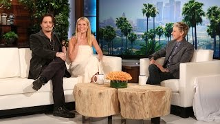 Johnny Depp and Gwyneth Paltrow on Keeping a Straight Face