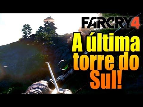 FAR CRY 4: A ÚLTIMA TORRE DO SUL! METAS DE CONQUISTA!