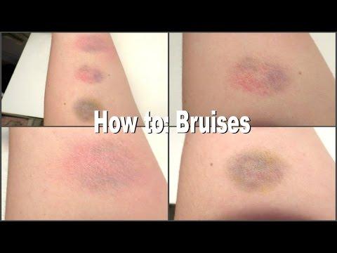 How to create bruises - 7 Days of Halloween