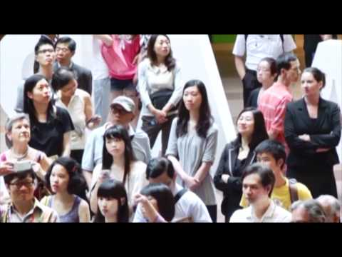 Hong Kong's own orchestral flash mob. Hong Kong Philharmonic playing Boléro