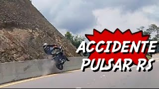 # CANDELIADA | ACCIDENTE PULSAR RS200 | CASI DOBLE ACCIDENTE