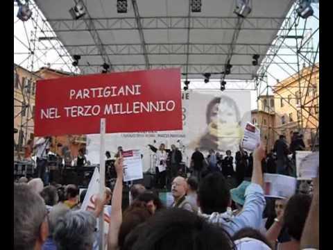 Curzio Maltese – No al bavaglio – Roma 1-07-2010