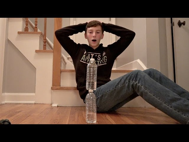 Water Bottle Flip Trick Shots 4  Thats Amazing
