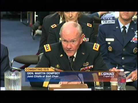 McCAIN QUESTIONS SEC. HAGEL AND GEN. DEMPSEY ON ISIS 9-16-14