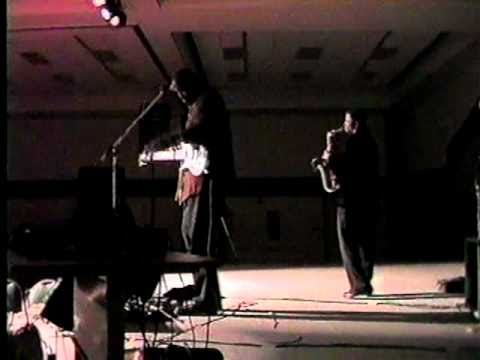BLACK WALL STREET; Wayman Tisdale with Mike Phillips at the Greenwood Cultural Center!