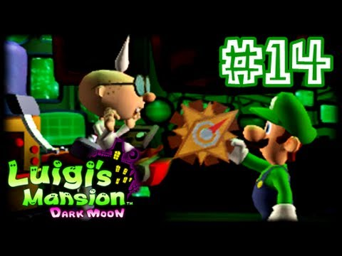Luigi's Mansion Dark Moon - 3DS - (1080p) Part 14 - C-1 A Timely Entrance