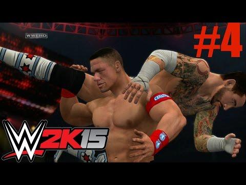 Wwe 2k15 2k Showcase - Cm Punk Vs John Cena #1 Contender Match (hustle, Loyalty, Disrespect Part 4) video