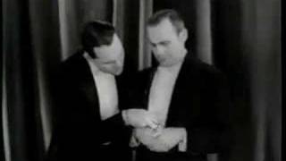 William Haines and Jack Benny in Hollywood Revue of 1929