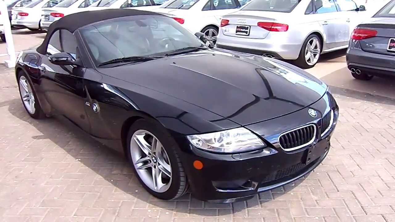2007 Bmw Z4 M Roadster Start Up Exterior Interior Review