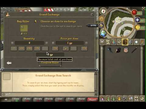 Runescape 2013 Low Money Flipping Guide (1.5M) – NO RISK