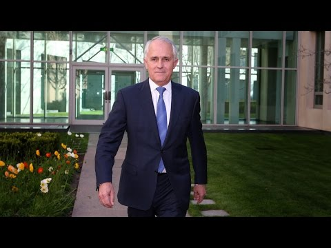 Malcolm Turnbull Is Sworn In as Australia's New Prime Minister