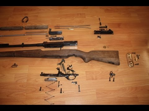 FN 49 Egyptian 8MM - Complete Disassembly (rifle and bolt ...