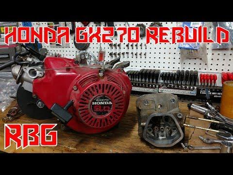 How to Rebuild A Honda GX270 Predator 301cc Engine