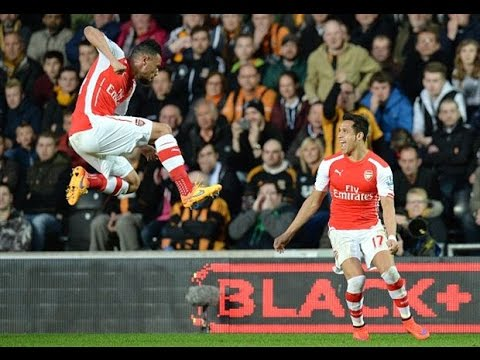 Hull City VS Arsenal (1:3).All GOALS & RESUMEN HIGHLIGHTS 04/05/2015