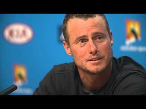 Lleyton Hewitt Farewell Presser Australian Open 2016