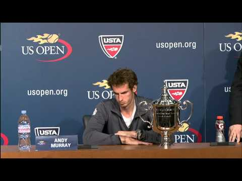 2012 US Open Press Conferences: Andy Murray (Final)