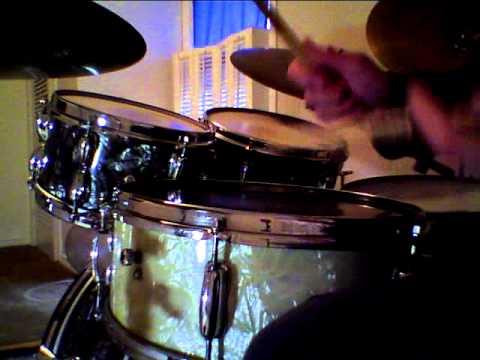 Slingerland WMP 1966 Snare Drum - Black and Gold Badge