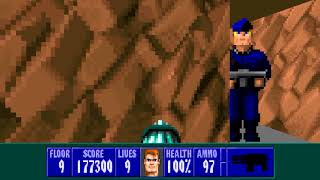 Wolfenstein 3D E6F9 General Fettgesicht Boss