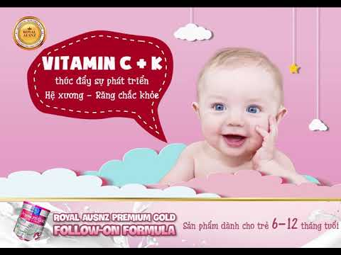 Sữa hoàng gia số 2 dành cho trẻ từ 6-12 tháng tuổi