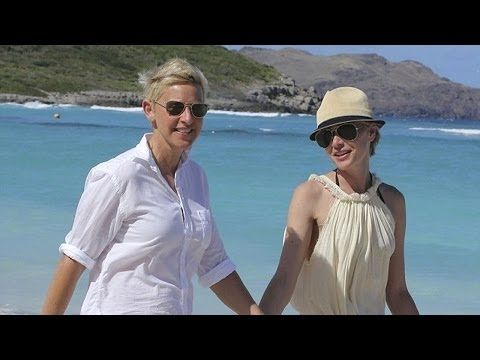Portia Wants Half Of Ellen's Wealth