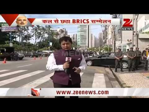 Zee Media Exclusive: PM Narendra Modi arrives in Brazil for BRICS Summit