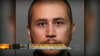 Website for George Zimmerman raises over $200K