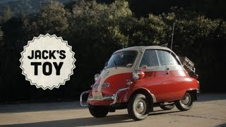 Jack's Toy Is a BMW Isetta