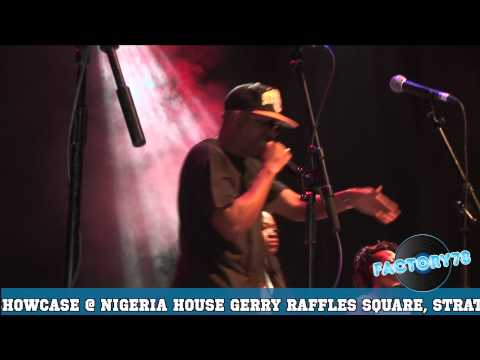 Naeto C - -Performs Live @ New World Nigeria 2012.
