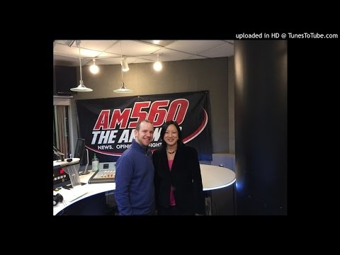 Theresa Mah with Shalom Klein on Get Down To Business