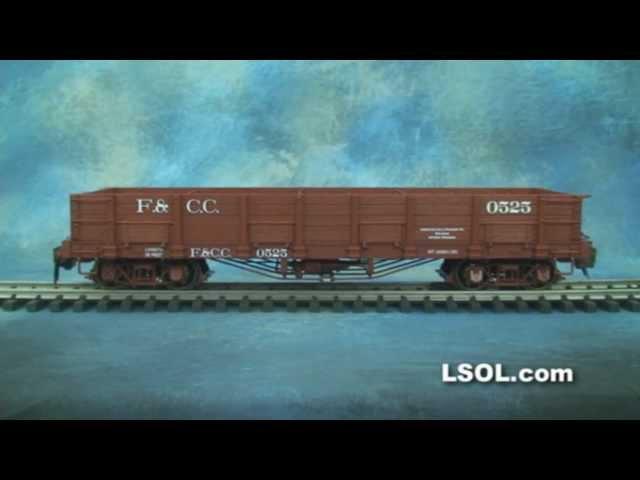 Garden Trains: UnBoxing - Bachmann Trains Low Side Gondolas 1:20.3 Specturm