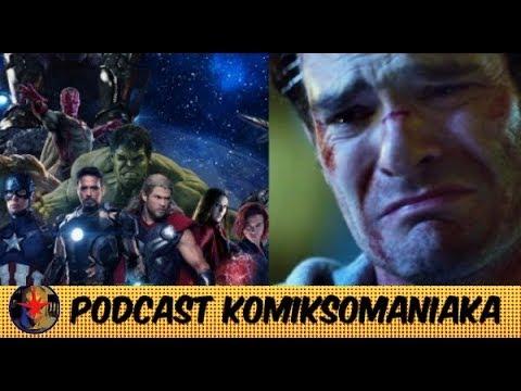 Dlaczego filmy i seriale Marvela (tak naprawdę) nie są połączone? - Podcast Komiksomaniaka odc. 7