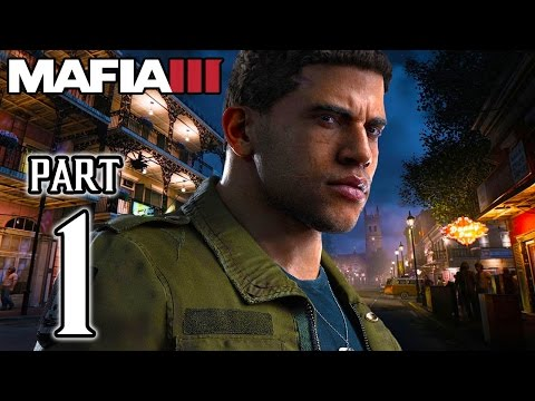 MAFIA 3 - Walkthrough PART 1 (PS4) Gameplay No Commentary @ 1080p HD ✔
